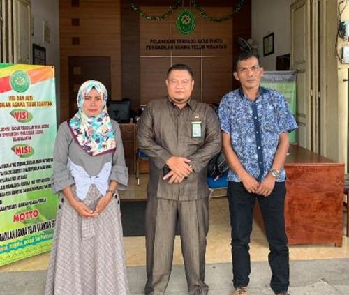 Hakim Mediator Pa Teluk Kuantan Berhasil Mediasi Perkara Gugatan Cerai Gugat